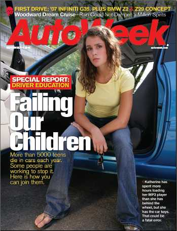 Autoweek story #1 discussing Alltrack USA