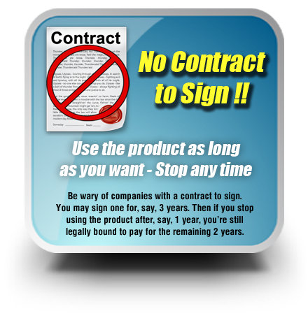 No Contract to sign