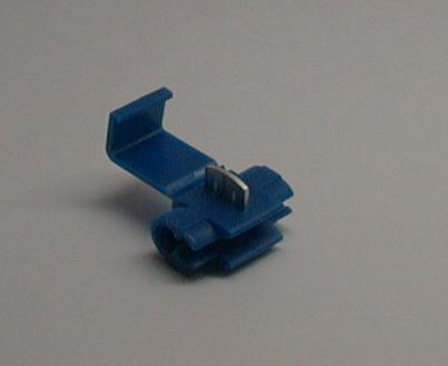 Crimp wire tap connector